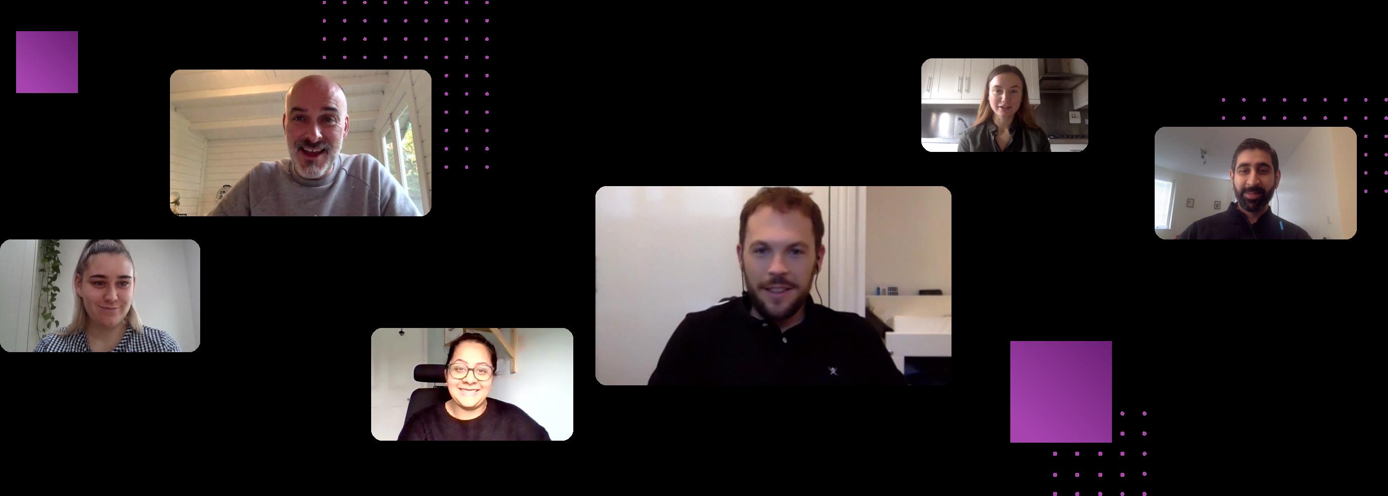 MySense Staff On A Video Call