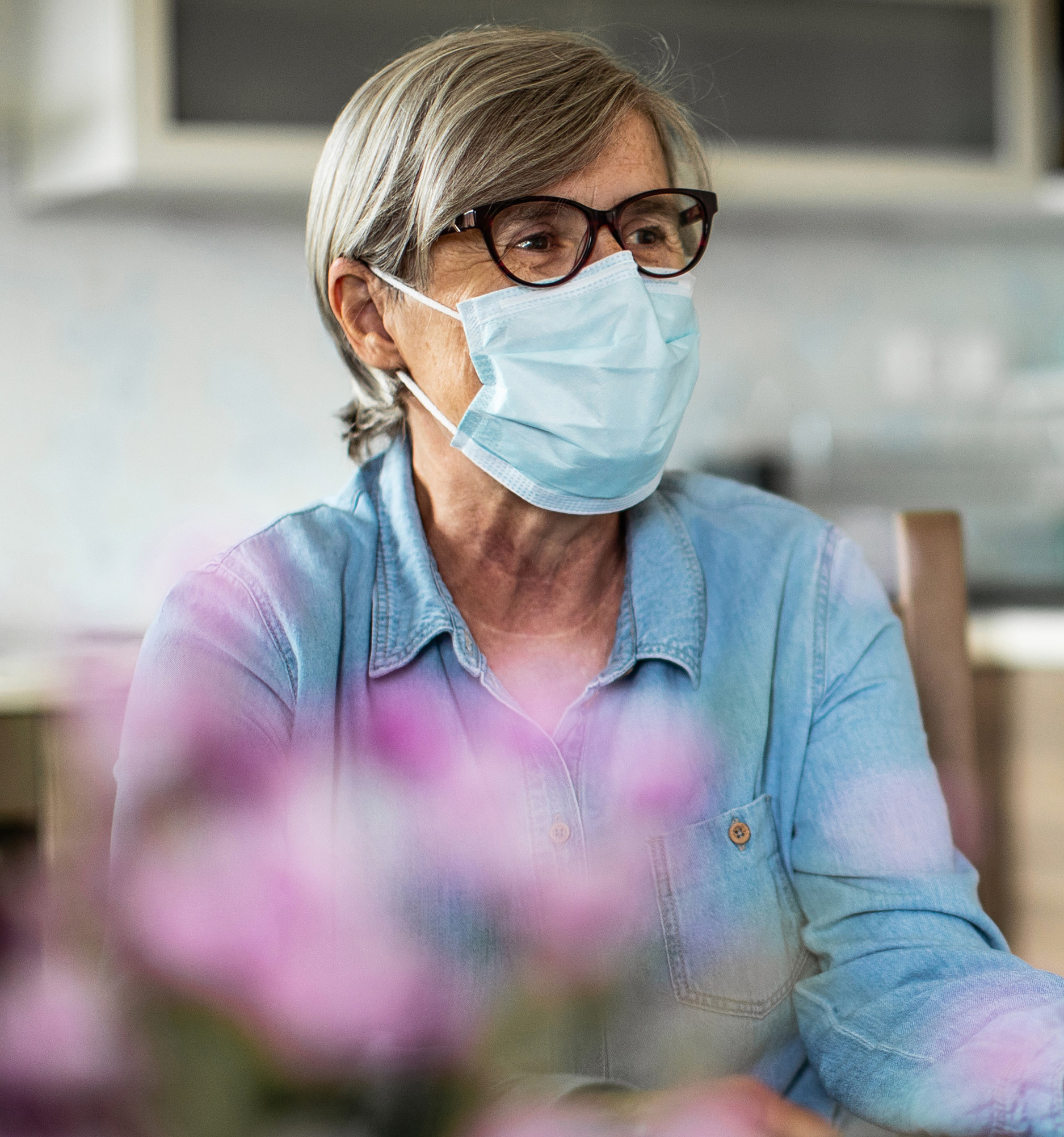 Healthcare Worker On A Home Visit