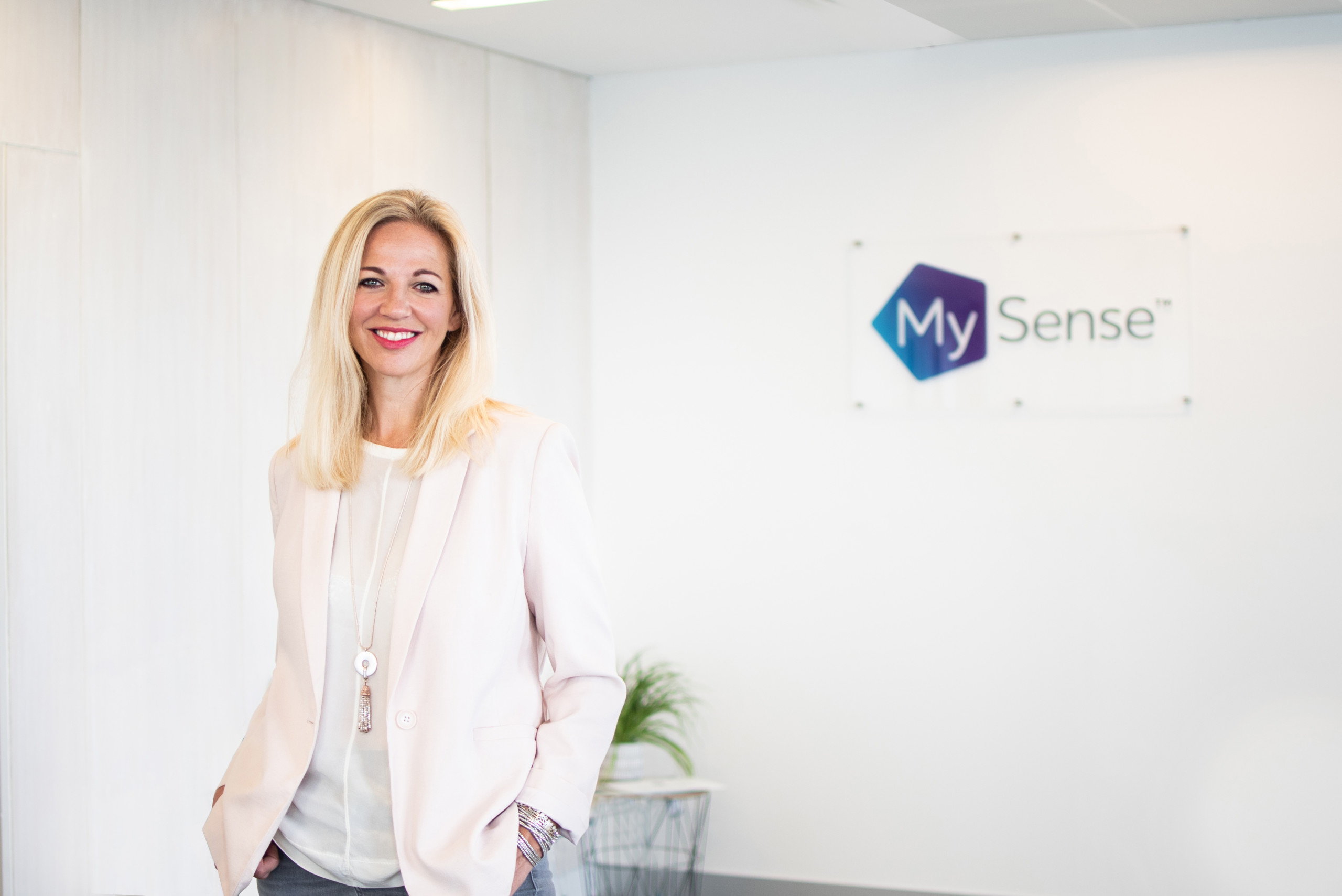 The Managing Director For MySense UK, Olivia Harker