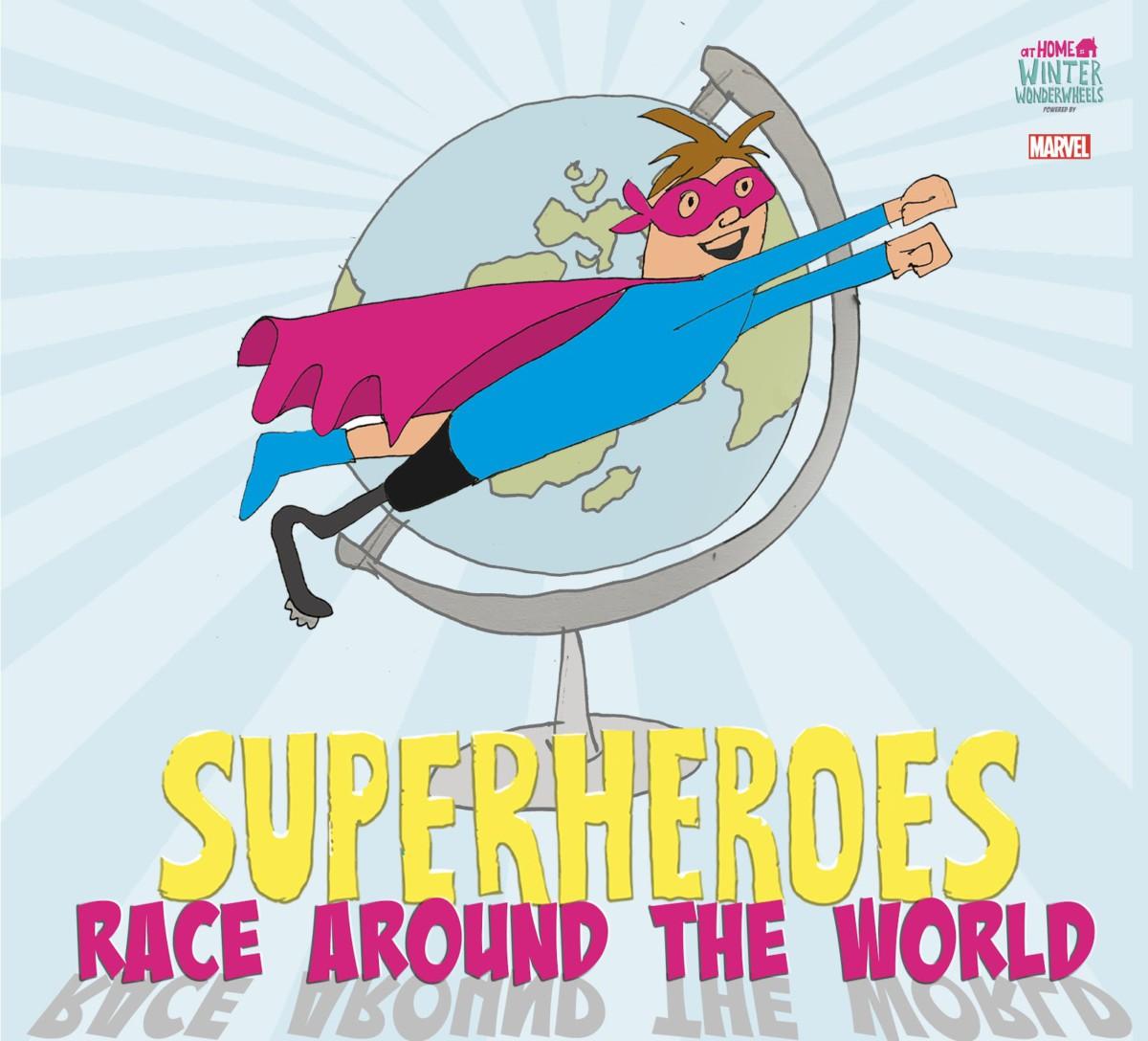 The Superhero Series - Superheroes Race Around The World